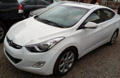 Hyundai Elantra 2014 Petrol Automatic White