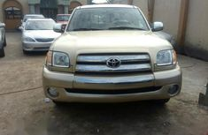 Clean Toyota Tundra 2003 Gold for sale