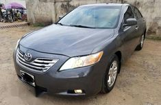 Clean Toyota Camry 2007 Gray for sale