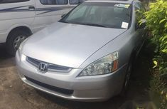 Honda Accord V6 2005 Silver for sale