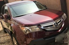 A Very Sharp Acura MDX 2008 Red