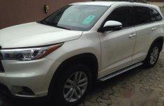 Used Toyota Highlander 2015 White for sale