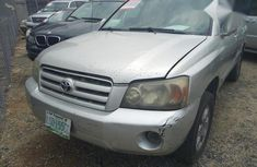 Affordable Toyota Highlander 2006 Silver