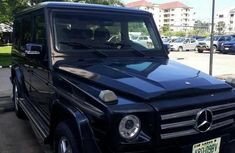 Mercedes-benz G500 2005 Black for sale