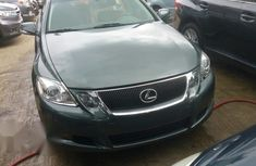 Lexus Gs350 2008 Green for sale