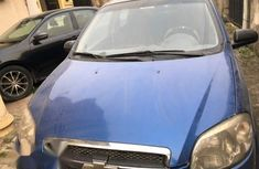 Chevrolet Aveo 2010 Blue For Sale