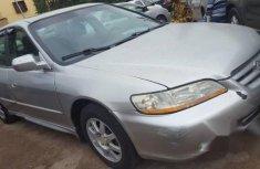 Nigerian Used Honda Accord 2002 Siver