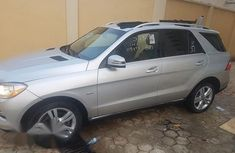 Mercedes-Benz ML 350 2012 Silver for sale