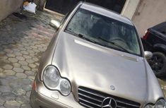 Mercedes Benz C230 2004 Gold for sale