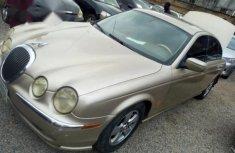 Jaguar S-Type 2001 Gold for sale