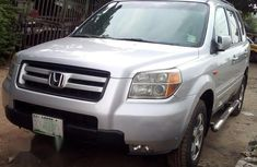 Registered Honda Pilot 2007 Silver for sale