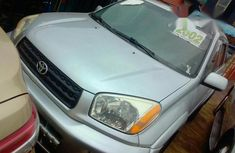 Tokunbo Toyota RAV4 2002 Silver for sale
