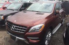 Mercedes-Benz M Class ML350 2014 Red for sale