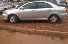 Clean Toyota Avensis 2008 Silver for sale