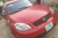 Neat Toyota Matrix 2005 Red For Sale