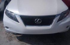 Lexus RX 350 2011 White for sale