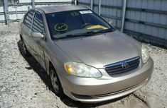 Used America Toyota Corolla 2005 Gold for sale