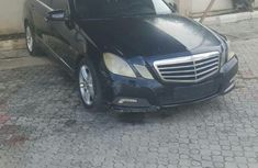 Mercedes-benz E350 2011 Black for sale
