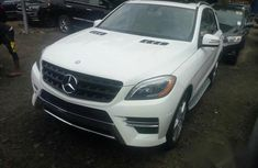 Mercedes-Benz M Class ML350 4MATIC 2015 White