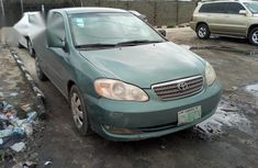 Toyota Corolla 2005 Green for sale