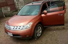 Nissan Murano 2005 Orange for sale