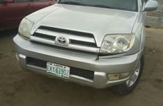 Toyota 4-Runner 2005 Silver for sale
