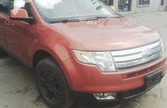 Ford Edge 2012 Orange for sale