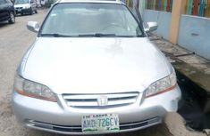 Very Clean Honda Accord 2002 Silver For Sale