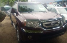 Honda Pilot 2011 Red for sale