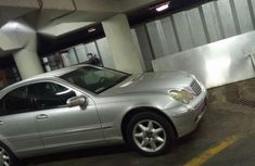 Mercedes Benz C240 2001 Silver for sale