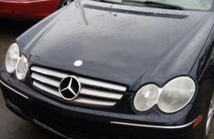 Mercedes Benz CLK350 2007 Black for sale