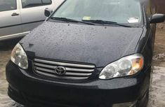 Tokunbo Toyota Corolla Sport 2004 Black for sale