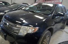 Clean Ford Edge 2008 Black for sale