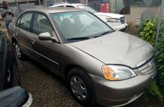 Honda Civic 2002 Gold for sale