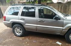 Jeep Grand Cherokee 2002 Gray for sale
