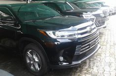 New Toyota Highlander 2018 Black for sale