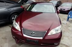 Clean Lexus ES350 2008 Red for sale