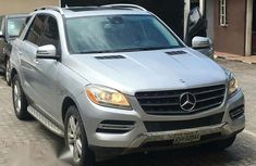 Clean Mercedes-Benz M Class ML350 4MATIC 2013 Silver