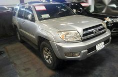 Clean Toyota 4-runner 2005 Gray for sale