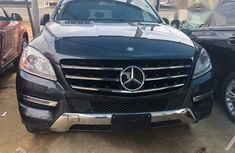 Mercedes Benz ML350 2013 Black for sale