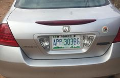 Neat Used Honda Accord 2007 Silver For Sale