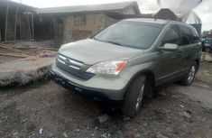 Quick Honda Crv 2008 Green for sale