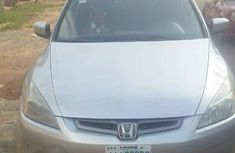 Clean Honda Accord 2004 Silver for sale