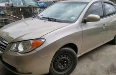7months Used Hyundai Elantra 2009 Gold For Sale