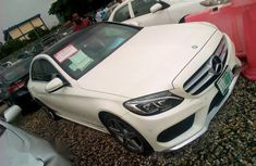 A Clean Mercedes-Benz C300 2015 White For Sale