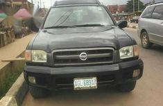 Clean Nissan Pathfinder 2002 Black for sale