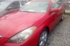 Clean Neat Toyota Solara 2006 Red for sale