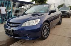 Tokunbo Honda Civic 2004 Blue for sale
