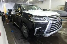 Lexus LX 570 2018 Black for sale