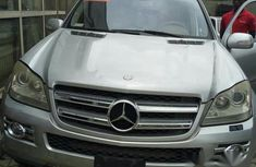 Mercedes Benz GL450 2007 Silver for sale